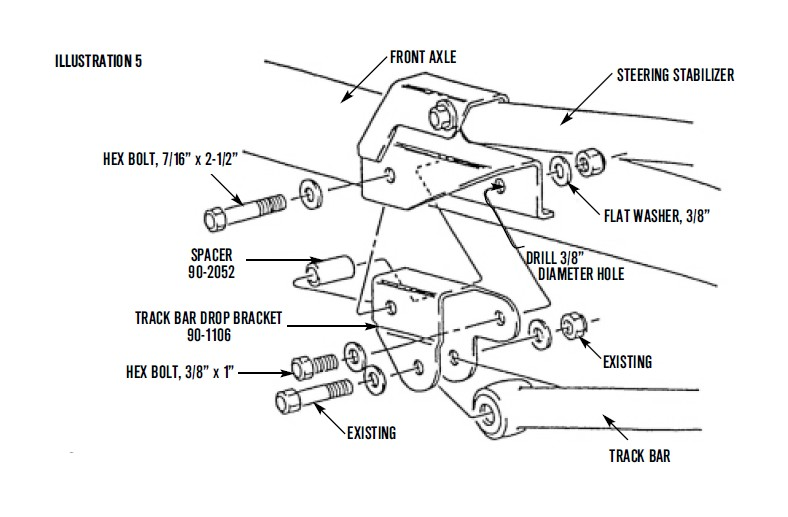 how to install pro comp steering stabilizer  large