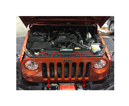 How to Install Raxiom Grille Mounted 20 in LED Light Bar on your 07