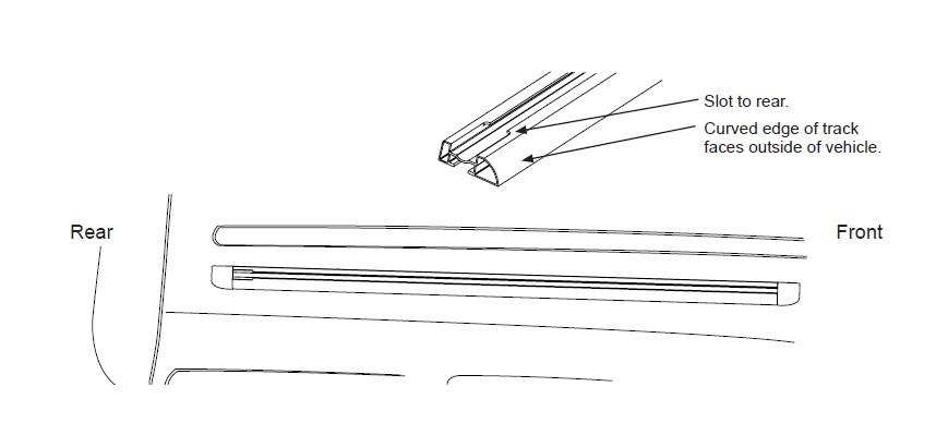 how to install rhino-rack heavy duty rlt500 trackmount 2 bar roof rack