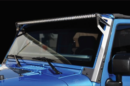 How To Install A Rigid Industries Windshield Mount For 50 In Led