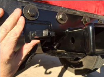 How to Install Rugged Ridge 2 in. Receiver Hitch Kit w/ Wiring ... Wiring Harness Clips Threaded Hole on trailer wiring clips, electric ford harness clips, safety harness clips,