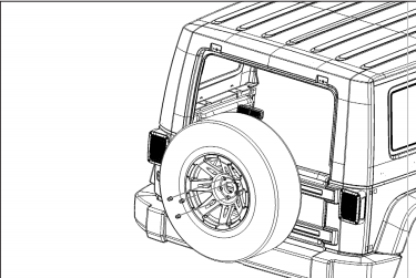 how to install a rugged ridge spartacus hd tire carrier hinge on Boat Trailer Jack use a torque wrench with a 3 4 socket to tighten the lug nuts to 80 lb ft have another person help lift the tire