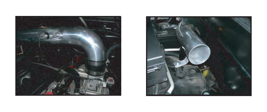 I install them in place of the front left intake bolt and the back right one.