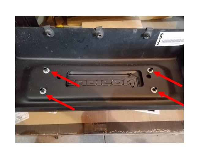 Note: Steps 9 15 May Or May Not Be Required Depending On The Size Of Your  Winch. I Recommend You Test Fit The Winch Plate And Winch Before Proceeding.