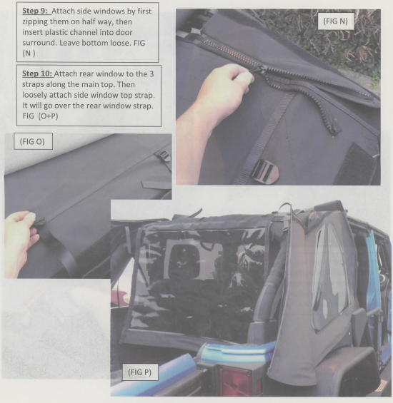 How To Install Smittybilt Bowless Combo Soft Top W Tinted