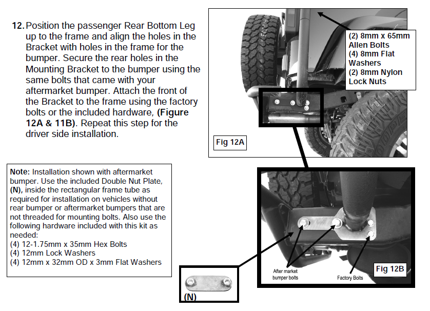 how to install smittybilt src roof rack