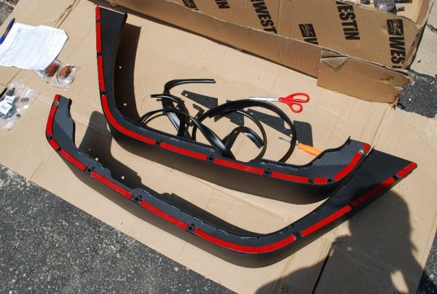 How to Install Snyper Front Tubular Fender Flares - Textured