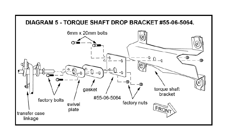 "carefully raise the engine approximately 3/8"" and slide the engine mount  spacers (#55-08-5120) between the engine mount and frame mount"