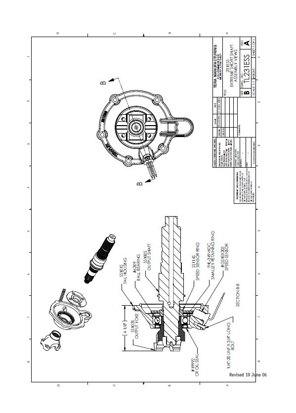 how to install teraflex 231 extreme short shaft kit on