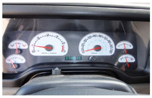 How to Install US Speedo Daytona Edition Gauge Face Front Lock Icon
