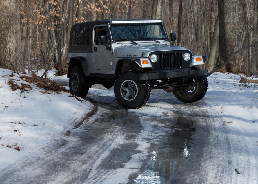 TJ Wrangler Ready for a Snowy Adventure