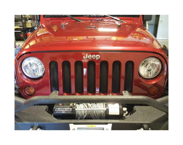 Jeep Tj Grille Removal