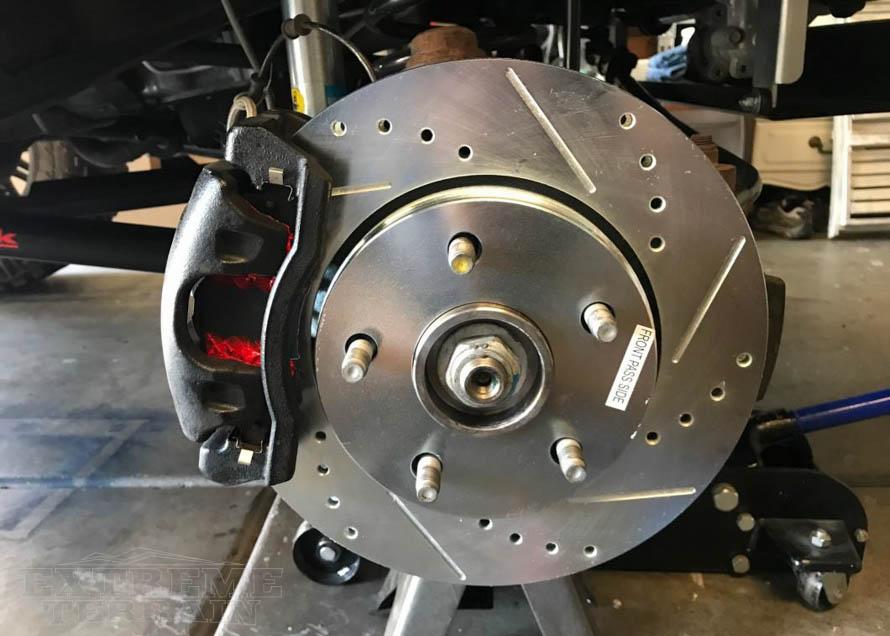 Stock Wrangler Brake Systems & How to Upgrade Them