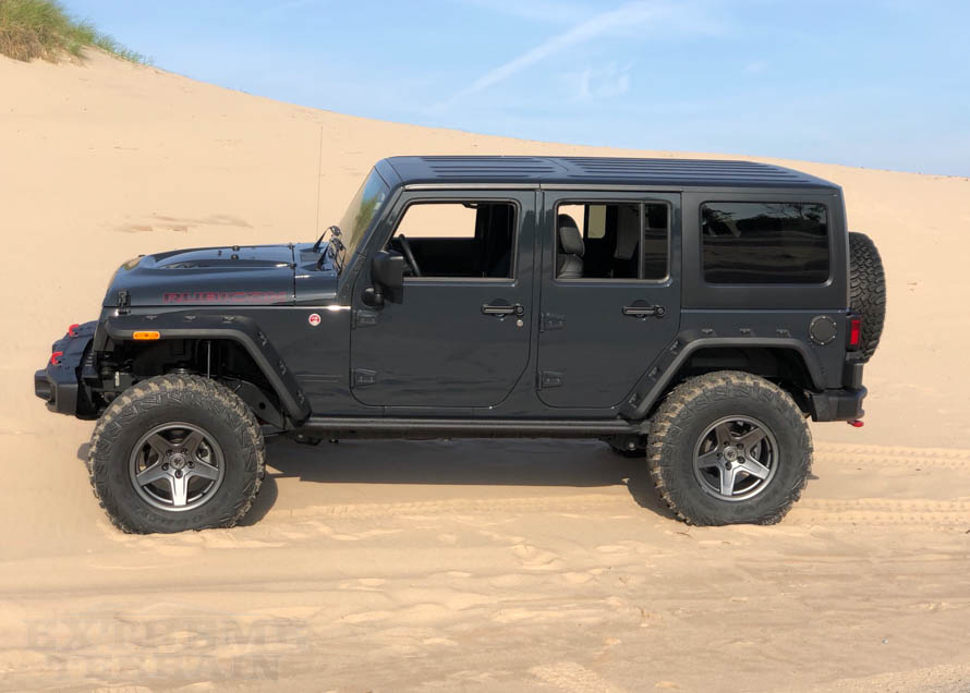 Jeep Rubicon Wheels - Mammoth 17x9s