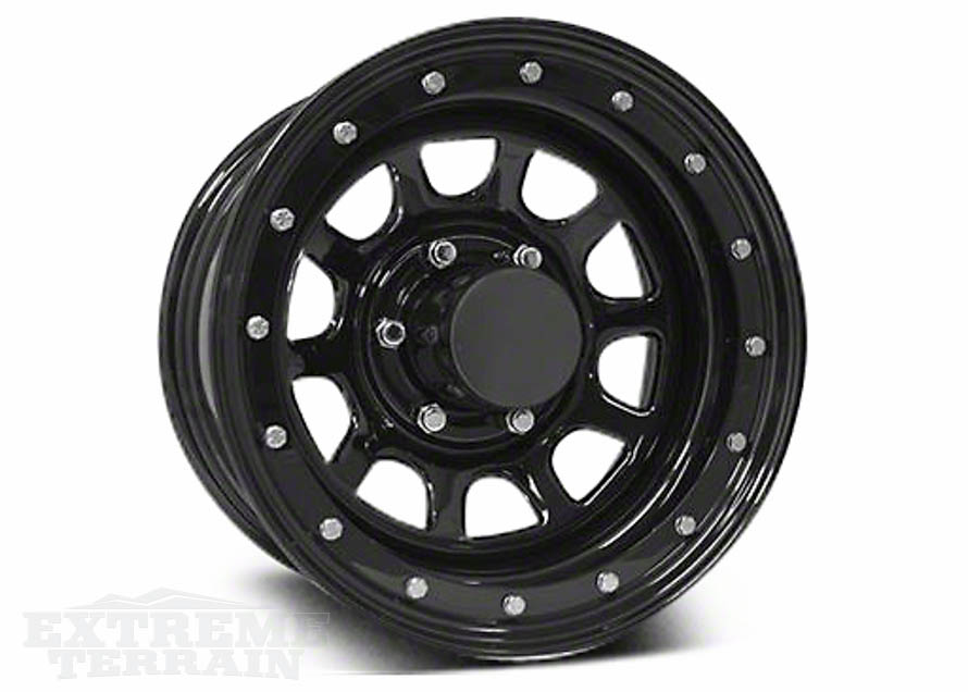Pro Comp 15x10 Steel Wrangler Wheel for 1987-2006 YJs and TJs