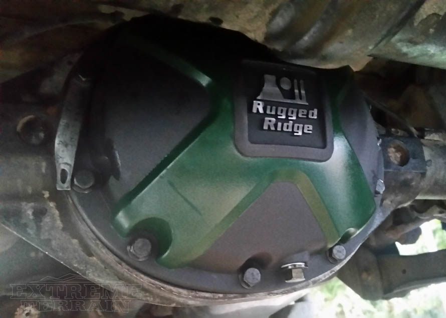 2005 TJ Wrangler with an Aftermarket Aluminum Differential Cover