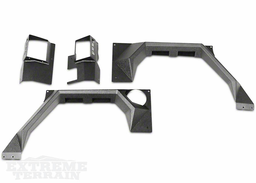 Steel Body Armor Set - Fenders - for JK Wranglers