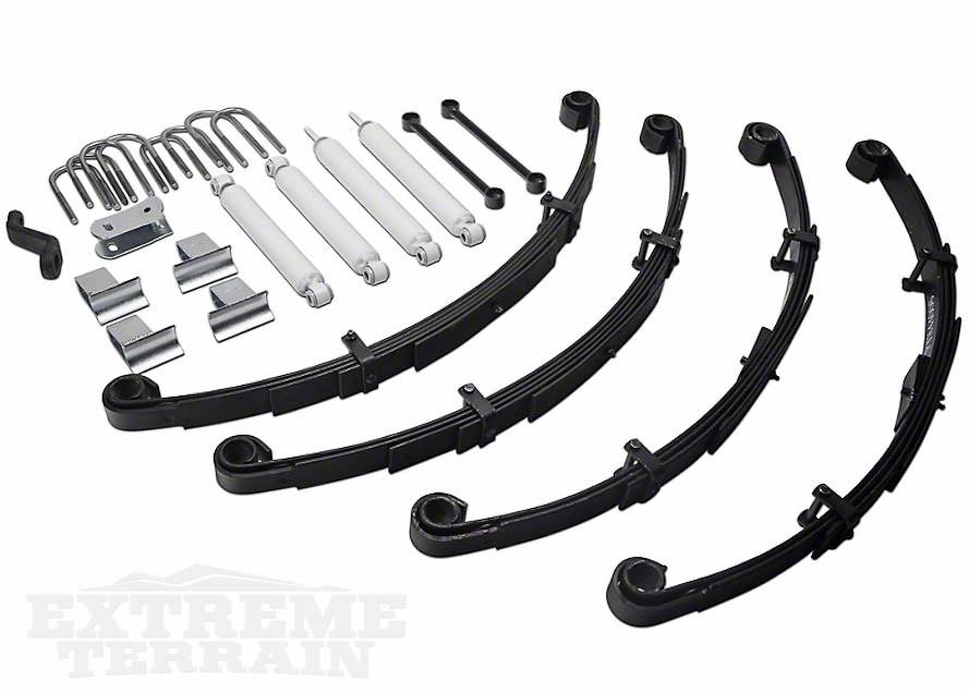 Fabtech 3.5in Lift Kit for 1987-1995 YJ Wranglers
