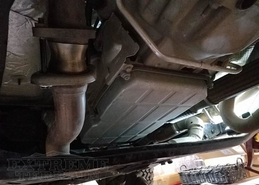 2.5in+ Lifted 2012-2017 JK Wrangler with an Exhaust Spacer Kit