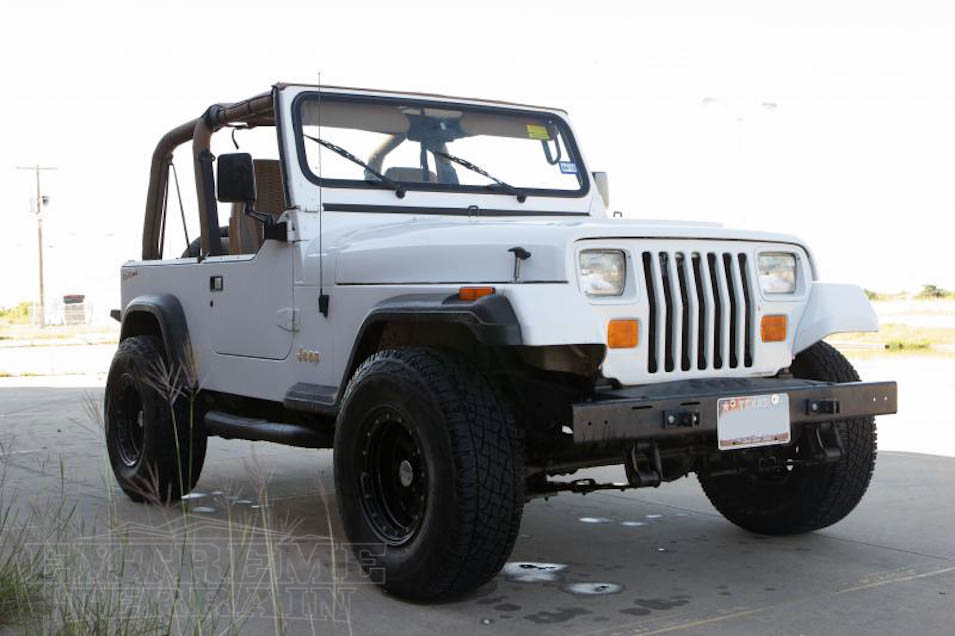 YJ Wrangler with a Body Lift
