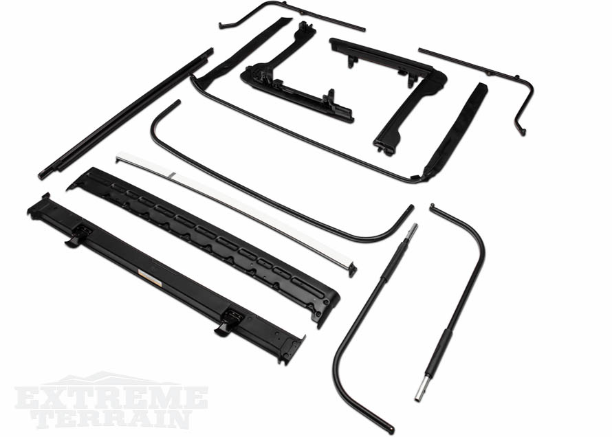 2007-2017 2 Door JK Wrangler Soft Top Frame Kit