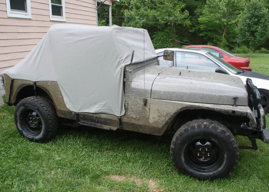 Water Resistant Cab Cover for 1987-1991 YJ Wranglers