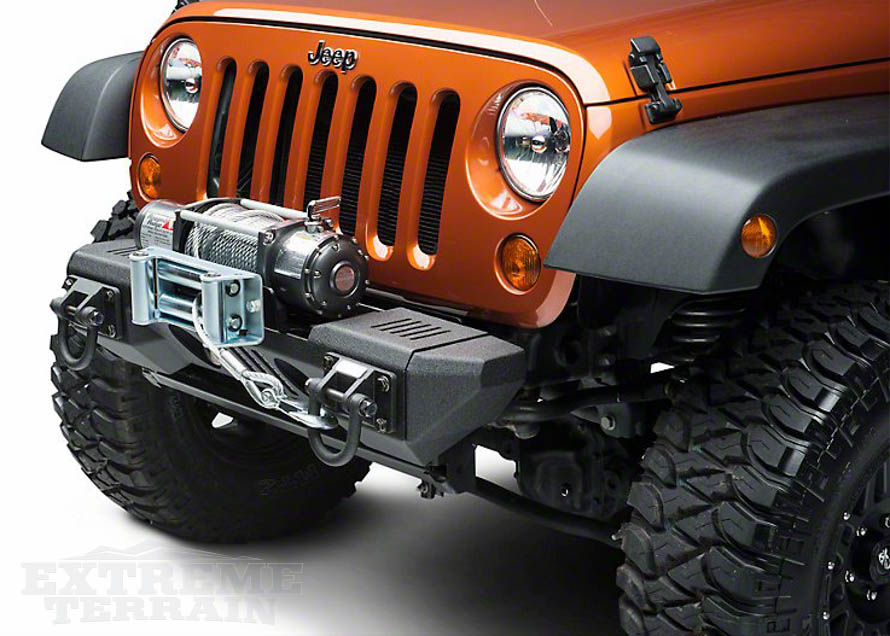 Wrangler Front & Rear Bumper Types & Materials Explained