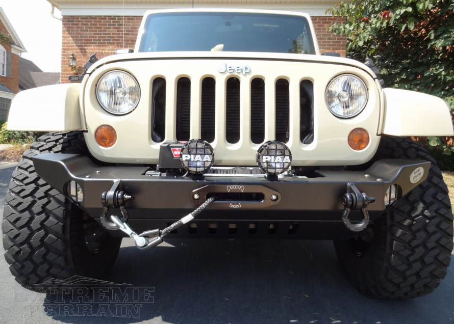 Wrangler Front Rear Bumper Types Materials Explained