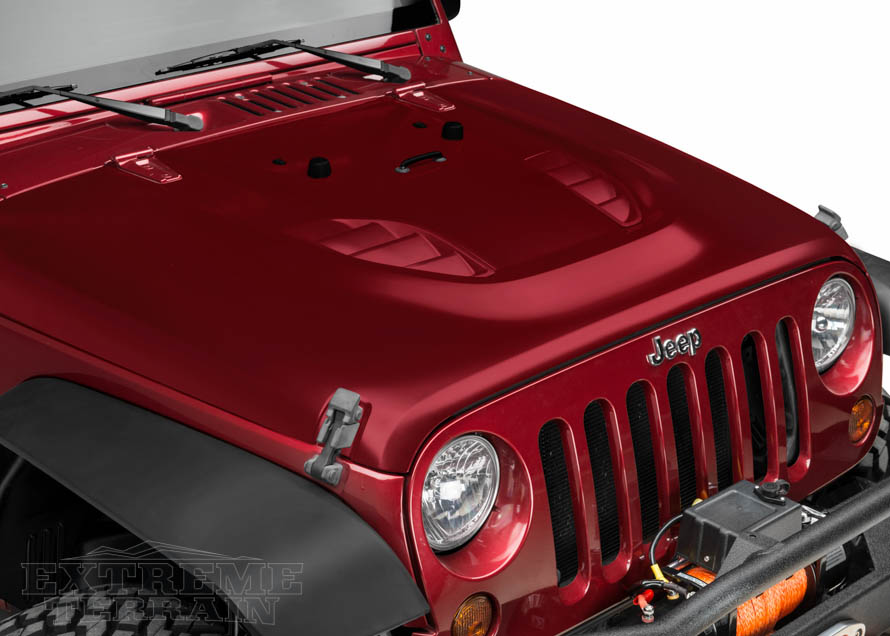 JK Wrangler with Rubicon 10th Anniversary Hood