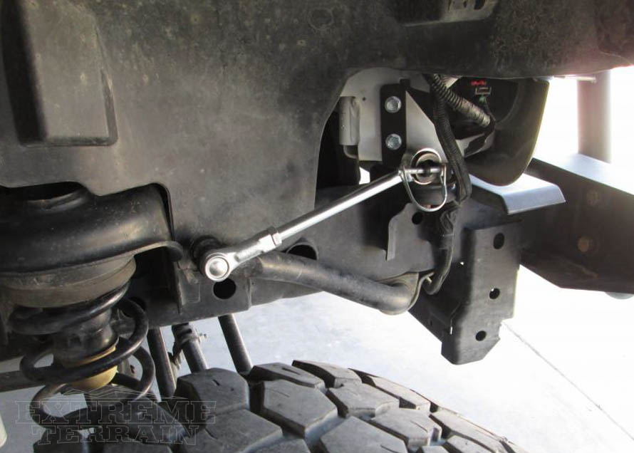 2007-2017 JK Wrangler with Sway Bar Disconnects