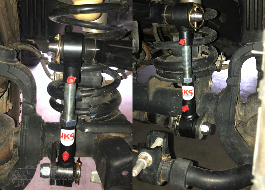 JK Sway Bar Disconnects - Front
