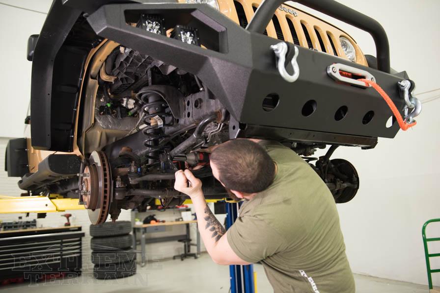 Jeep Wrangler JK Suspension Torque Specs