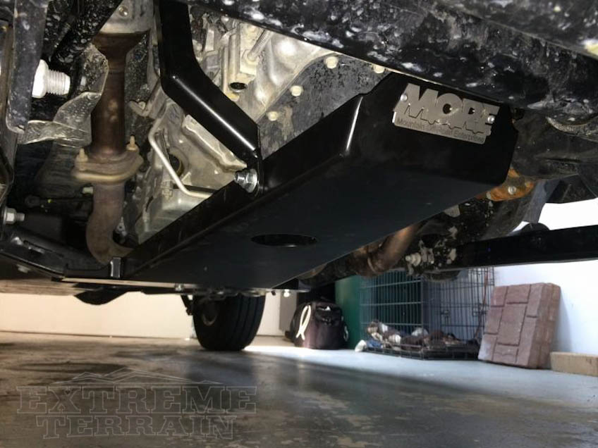 M.O.R.E. Transmission Skid Plate for Wrangler JKs