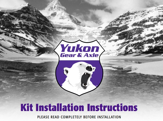 How to Install Yukon Gear Dana Gears on your 07-18 Jeep