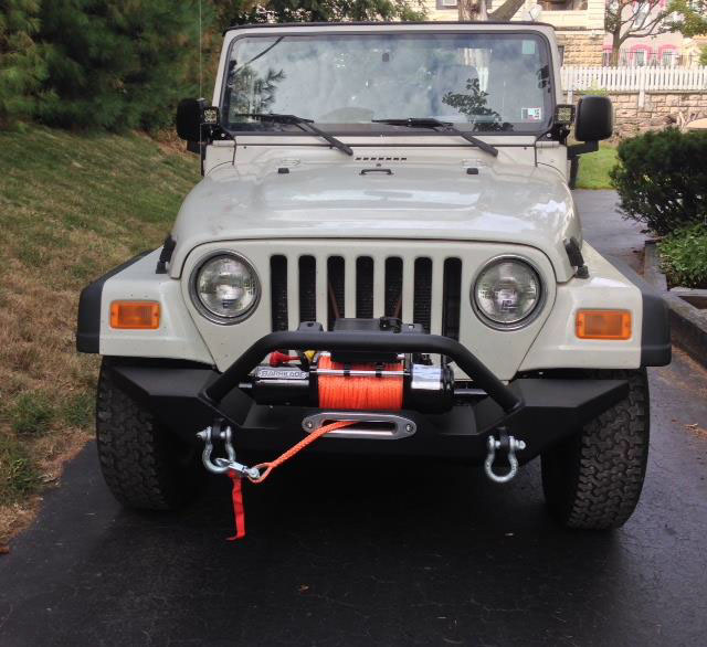 Barricade 9500lb Winch Install Jeep Wrangler Jk Wiring Manual Guide