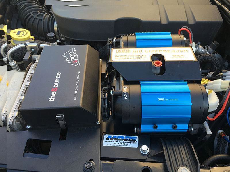 How Install A Arb 12v Twin On Board Air Compressor On A