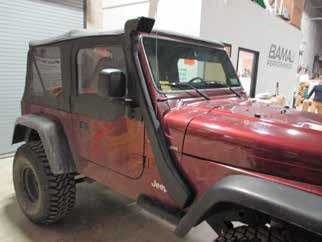 How To Install a Redrock 4X4 Snorkel on your 2000-2006 4 0L
