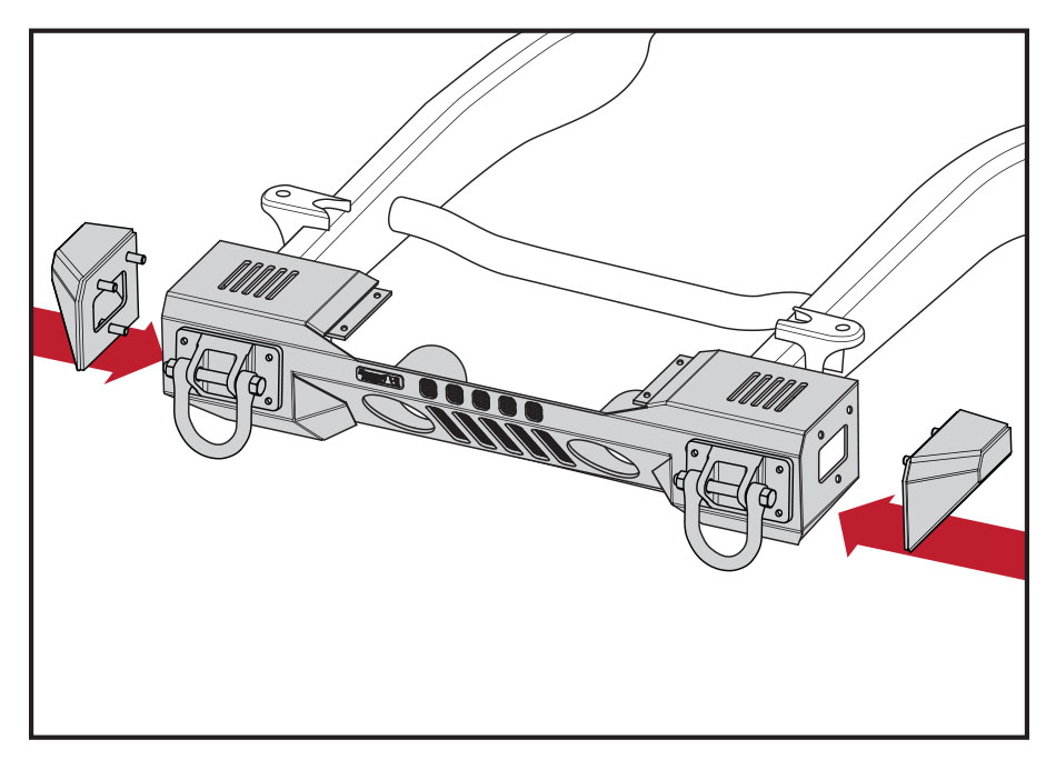 how to install a rugged ridge steel front winch bumper on your 07