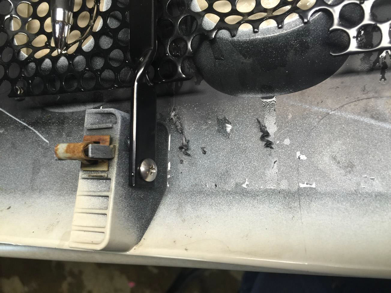 How To Install Rugged Ridge Perforated Grille Insert In Black On A 1999 Jeep Wrangler Clutch Retainer Reinstall Grill Onto Vehicle Make Sure All Retainers At Bottom Of The And By Fog Lights Are Firmly Seated Clips Along Top