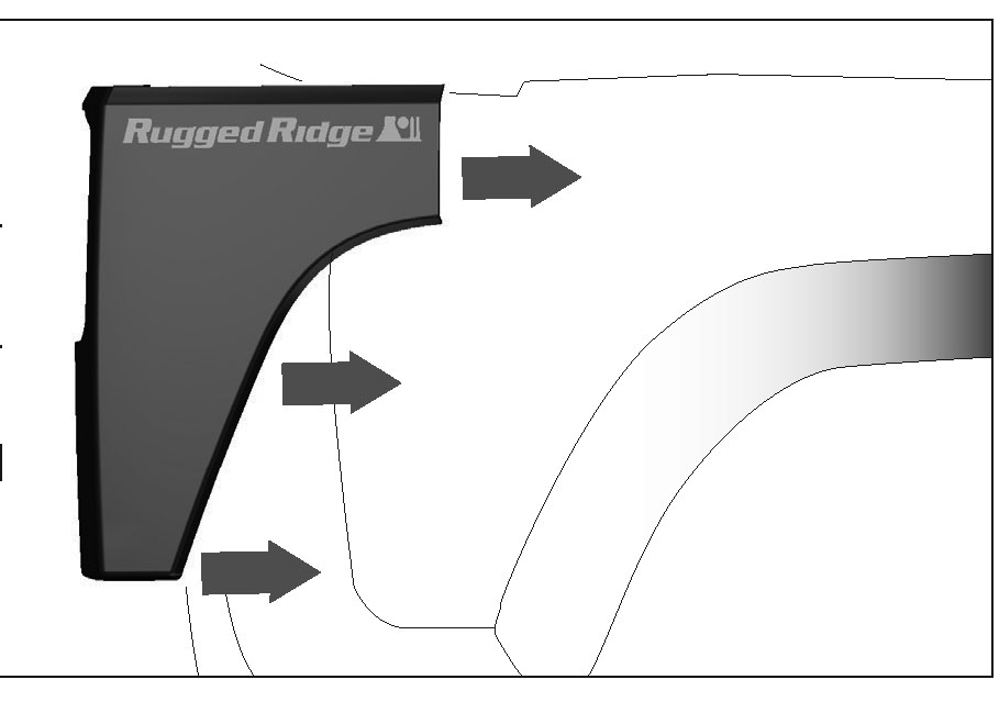 How To Install A Rugged Ridge Rear Corner Kit Body Armor