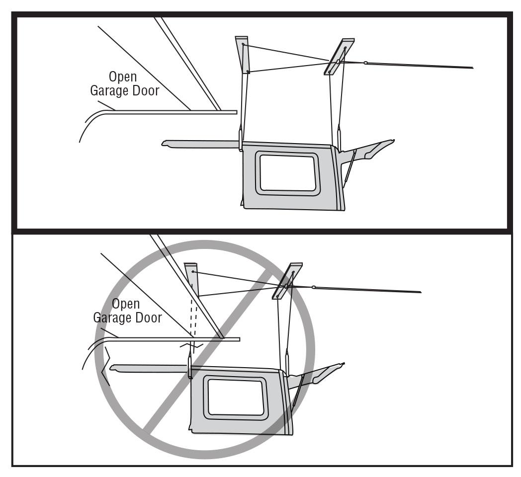 how to install a harken hoister garage storage 4
