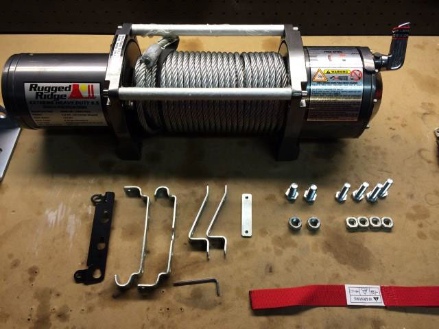 Warn m8000 winch install do it yourself guide overland bound.