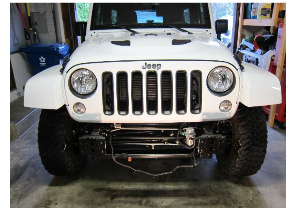 How To Install A Rugged Ridge Winch Mount Modular Xhd Front Bumper  Textured Black 07